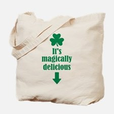 It's magically delicious shamrock Tote Bag
