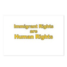 Immigrant Rights Are Human Rights Postcards (Packa