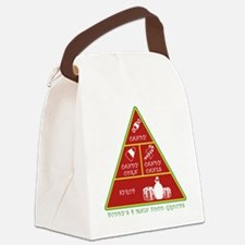 Buddy's Four Food Groups Canvas Lunch Bag