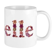 Isabelle Pink Flowers Mugs