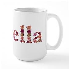 Isabella Pink Flowers Mugs