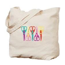 Scrapbooks Scissors Tote Bag