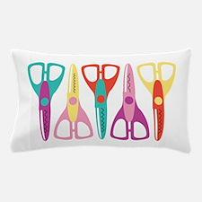 Scrapbooks Scissors Pillow Case