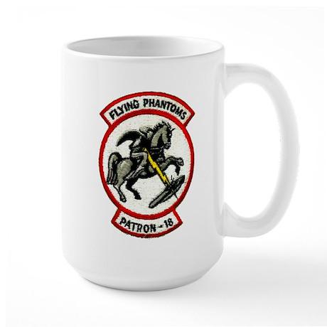 VP 18 Flying Phantoms Large Mug