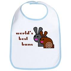 World's Best Buns Bib