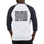 Ask Us Now Baseball Jersey