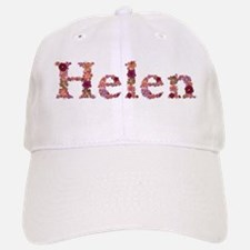 Helen Pink Flowers Baseball Baseball Baseball Cap