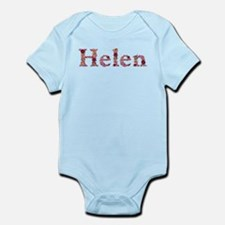 Helen Pink Flowers Body Suit