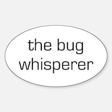 Bug Whisperer Oval Decal