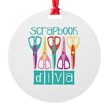 Scrapbook Diva Ornament