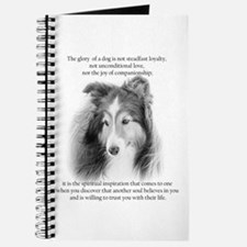 Sheltie Glory Journal