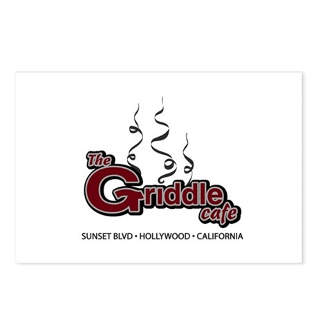 The Griddle Cafe Postcards (Package of 8)