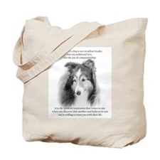 Sheltie Glory Tote Bag