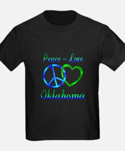 Peace Love Oklahoma T