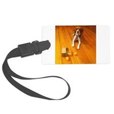 Beagle: Nose with a dog attached Luggage Tag