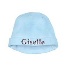 Giselle Pink Flowers baby hat