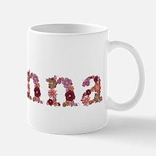 Gianna Pink Flowers Mugs