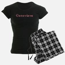 Genevieve Pink Flowers Pajamas