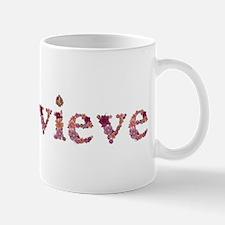 Genevieve Pink Flowers Mugs