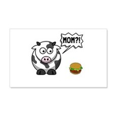 Cow Mom Wall Decal