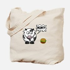 Cow Mom Tote Bag