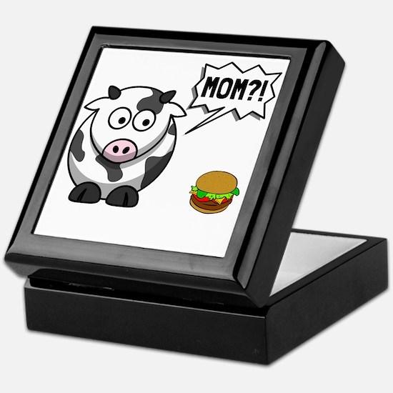 Cow Mom Keepsake Box