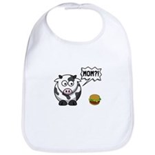 Cow Mom Bib