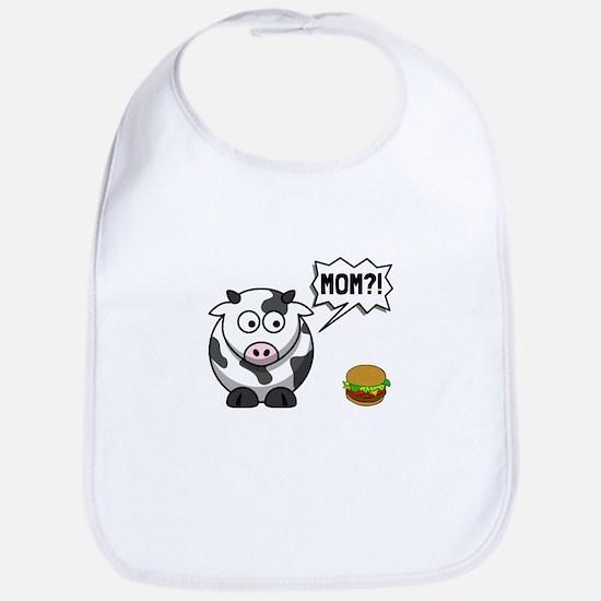 Cow Mom Bib