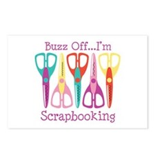 Buzz Off... Im Scrapbooking Postcards (Package of