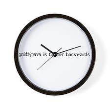 backwards.gif Wall Clock