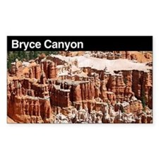 Bryce Canyon National Park Rectangle Decal
