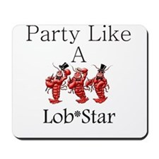 Lobstar.gif Mousepad