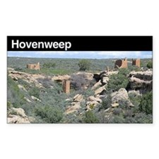 Hovenweep National Monument Rectangle Decal