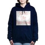 poontang.gif Hooded Sweatshirt