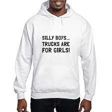 Girls Trucks Hoodie