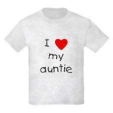 I love my auntie T-Shirt