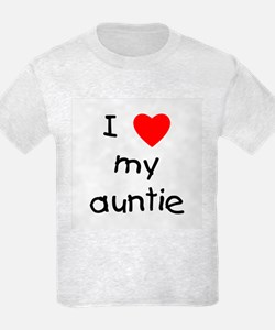 I love my auntie T-Shirt