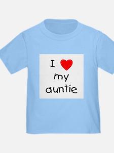 I love my auntie T