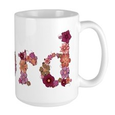 Ford Pink Flowers Mugs