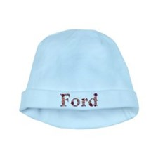 Ford Pink Flowers baby hat