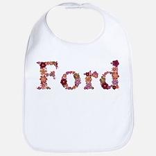 Ford Pink Flowers Bib