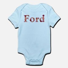 Ford Pink Flowers Body Suit