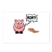 Pig Mom Postcards (Package of 8)