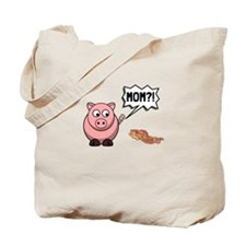 Pig Mom Tote Bag