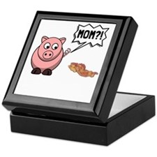 Pig Mom Keepsake Box