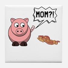 Pig Mom Tile Coaster