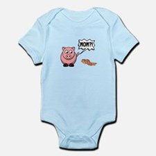 Pig Mom Body Suit