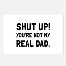 Shut Up Dad Postcards (Package of 8)
