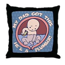 Waterbreaker - Plumber II Throw Pillow