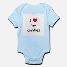 I love my aunties Infant Bodysuit